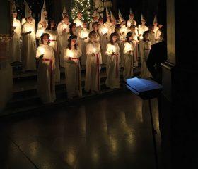 Luciakoncert – efter svensk tradition
