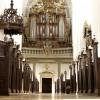 Orgelfacade fra kirkegulvet_kvadrat
